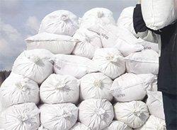 1 мешок (13-15 кг) = от 100 рублей